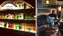 50% off 4 Drinks, 1 Pizza and Mixed Appetizers Plate for 2 Persons at Calvados ($29 instead of $58)