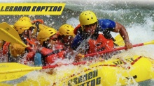 50% off 2 Hour Rafting Adventure with 1 Night Bungalow Stay ($25 instead of $50)