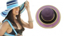 50% off Colourful Beach Hats ($12 instead of $24)