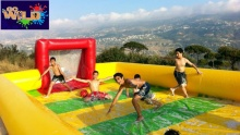 50% off Soap Football, Paintball and Lunch from Go Wild
