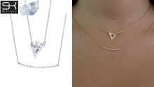 68% off a Set of 2 Necklaces from SK Bijoux ($16 instead of $50.6)