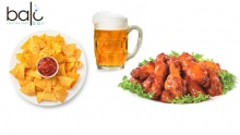 50% off Open Wings, Nachos and Beer at Bali ($15 instead of $30)