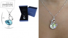 53% off Swarovski Elements Swan Necklaces ($28 instead of $60)