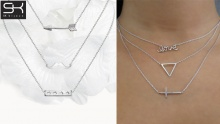 81% off a Set of 3 Necklaces from SK Bijoux ($22 instead of $114)