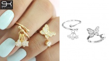 70% off Tip Rings Set from SK Bijoux ($11.6 instead of $38.6)