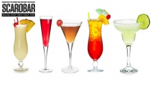 50% off Drinks from Scarobar-Publicity ($15 instead of $30)
