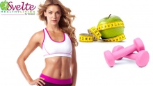 60% off 1 Month Fitness Membership + Diet System from Svelte Healthy Living ($66.4 instead of $166)