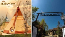 50% off One Night Stay in a Tipi with Breakfast and Lunch / Dinner at El Rancho (starting from $135 instead of $270)