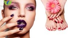 50% off Mani-Pedi Session from Venus Beauty Salon & Spa ($10 instead of $20)