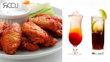 50% off Open Regular Bar with Wings Platter on Karaoke Night at Rooj ($20 instead of $40)