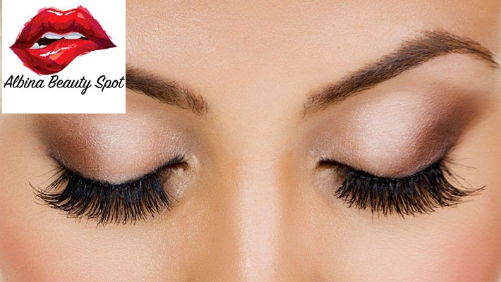 e7180b60f15 50% off 3D Volume Eyelash Extensions from Albina Beauty Spot by Ina's  Institute ($140 instead of $280)
