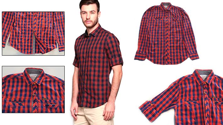 0ff6abd2ac Seveneagle Plaid Men's Shirt | Gosawa Beirut Deal