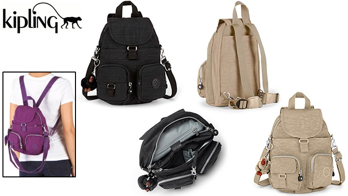 74% off Kipling Backpack ( 25.99 instead of  100) c359b42c7f