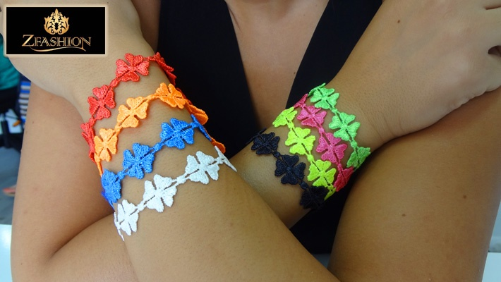 ceb589588d 80% off 3 Crochet Colorful Bracelets from Z Fashion ( 6 instead of  30)