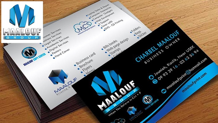 Flyer business card designs with printing gosawa beirut deal 50 off flyer business card designs with printing from ets charbel maalouf starting from 35 instead of 70 colourmoves