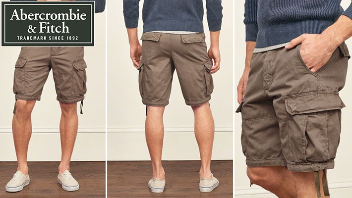 f4f07e6e0a10d 70% off Abercrombie   Fitch Men s Cargo Shorts ( 17.99 instead of  60)