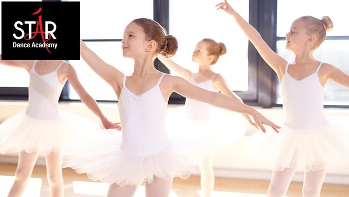 b8b8bd2691d82 82% off 1-Month Kids Ballet Dance Class Membership at Star Dance Academy  ($10 instead of $55)