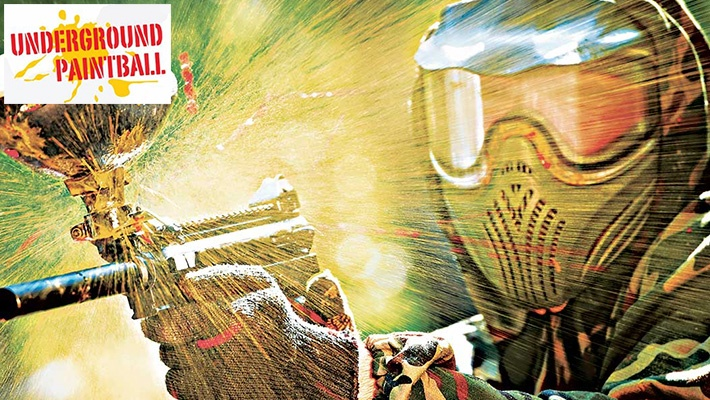 ce56e795148b3 60% off 2-Hour Paintball Battle at Underground Paintball ( 8 instead of  20)