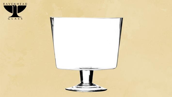 Transparent Ravenhead Entertain Footed Trifle Bowl