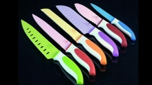 60% off Knife Set with Colourful Ceramic Coating ($17 instead of $43)