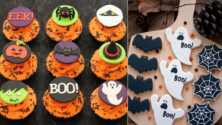 Pictures Of Halloween Cakes And Cupcakes