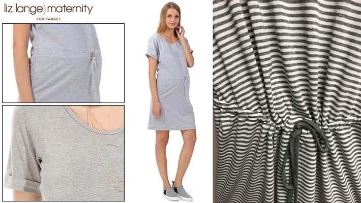 b992c9a44b564 75% off Liz Lange Maternity T-Shirt Dress ($9.99 instead of $40)