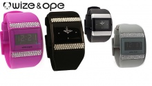 61% off Wize & Ope Digital or Analogue All Over Strass Watches ($35 instead of $89)