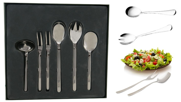 Kitchencraft Set Of 6 Stainless Steel Teaspoons Vivid And Great In Style Other Flatware & Cutlery Flatware, Knives & Cutlery