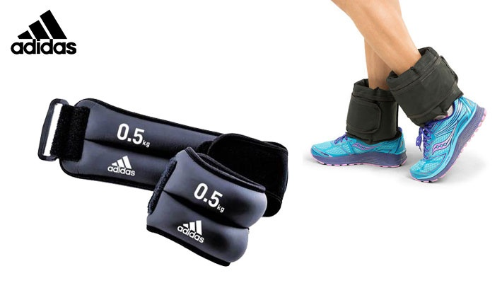 Two 0.5 Kg Adidas Adjustable Wrist-Ankle Weights (only  27.33) 994c8dfe6