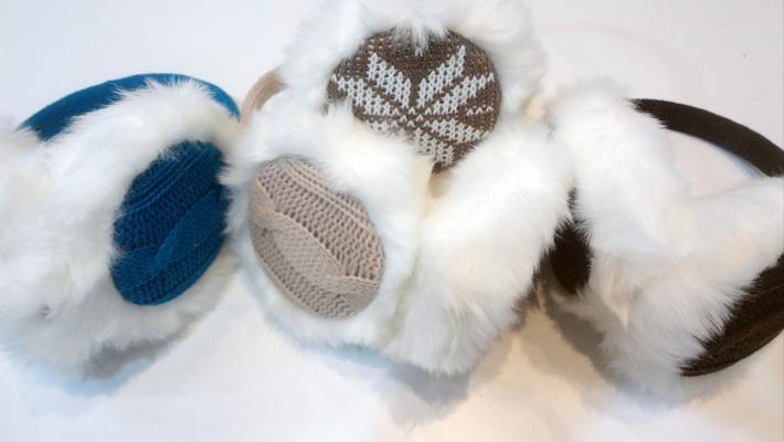 5da8644f93b0 Knitted Headphone Earmuffs