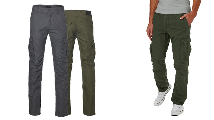 bc545aba42e41 50% off O'Neill Men's Lifestyle Janga Cargo Pants ($63 instead of $126)