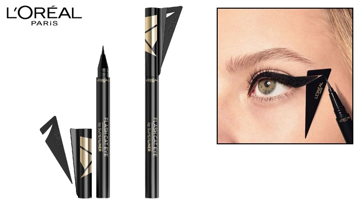 3c91a9c179e L'Oreal Paris 01 Black Super Liner Flash Cat Eye | Gosawa Beirut Deal