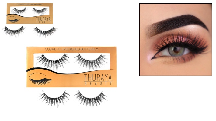 47e94e78d37 Thuraya Beauty Cosmetic Eyelashes | Gosawa Beirut Deal