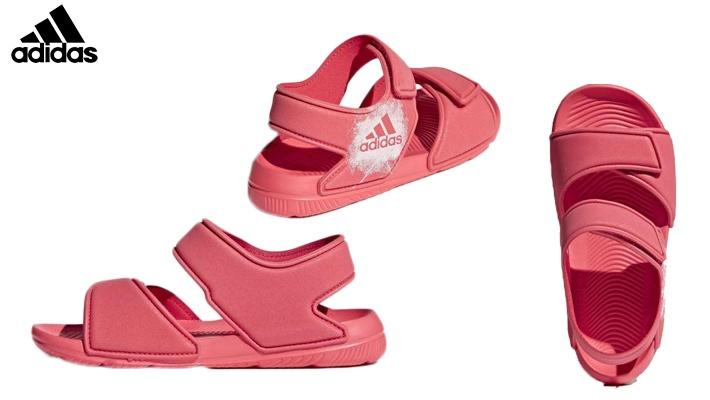 e5120ec5e840 Adidas Girls  Swim Pink Sandals (only  40)