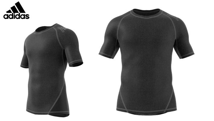 7234adf9c Dark Grey Adidas Men's Training Alphaskin T-Shirts | Gosawa Beirut ...