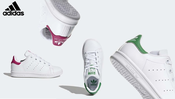 watch 4f960 d0363 Adidas Kids Stan Smith Shoes (only  86)