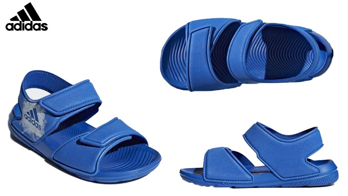 0f0f620847d Adidas Boys  Blue Swim Sandals (only  40)