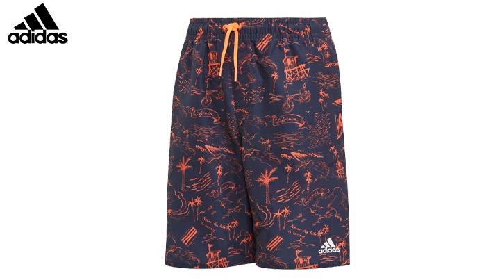 704e7f63eb8 Adidas Boys  Graphic Swimwear Short