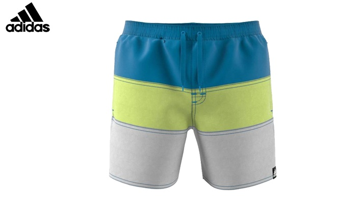 10ad508c9 Adidas Boys  Blue Colorblock Swim Shorts (only  40).   40