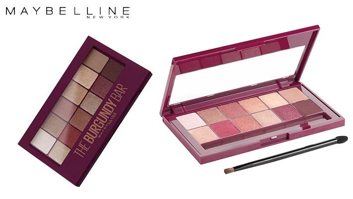 4abc4baf9fa Maybelline The Burgundy Bar Eyeshadow Palette | Gosawa Beirut Deal