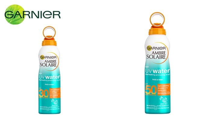 Garnier 200 ml UV Water Refreshing Spray Cream Protect