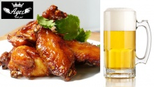 50% off Open Wings & Beer at Ages Resto Pub ($10 instead of $20)