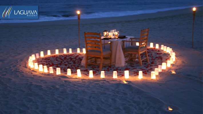 Romantic 4 Course Dinner For Two At Laguava Resort Gosawa Beirut