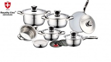 50% off 10 Piece Stainless Steel Cookware Set ($75 instead of $150)