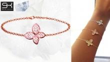 69% off Butterfly & Clover Bracelets from SK Bijoux ($10 instead of $32.6)