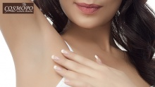 71% off Underarm Pain-Free Laser Hair Removal Session from COSMOPO ($23 instead of $80)