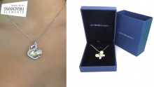 50% off Swan/Butterfly Swarovski Elements Necklaces ($34 instead of $68)