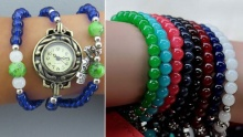 50% off Beads Wrap Around Watches ($9 instead of $18)