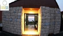 One Night Bungalow/Chalet Accommodation for Two at LunaSol
