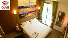 53% off One Night Stay for Two with Breakfast and Bottle of Alcohol at Guias Boutique Hotel ($70 instead of $150)